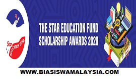 The Star Education Fund Scholarship Awards 2020