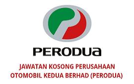 Jawatan Kosong Perusahaan Otomobil Kedua (PERODUA)