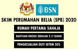 Cara Mohon Skim Perumahan Belia (SPB) BSN MyHome 2020