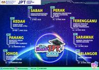 Jadual Terkini Karnival Jom Masuk IPT 2020