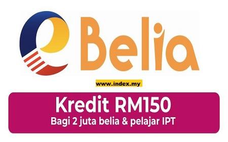 Cara Mohon dan Tebus Bantuan Kredit eWallet RM150